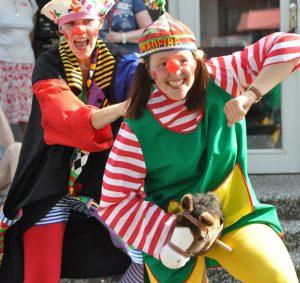 Clowns Einzelfoto